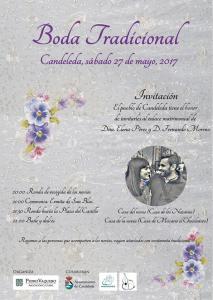 Boda tradicional 2017. Candeleda